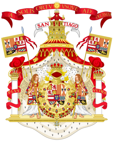arms of spain -philip v